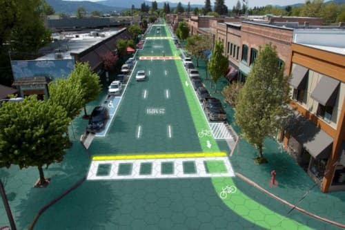 When Streets are Paved with Solar Panels