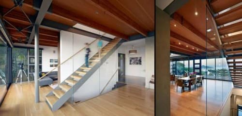 Staircase Reflects the Style of a Home